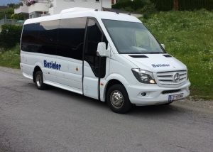 Außernansicht 18er Mercedes-Benz Sprinter 519 CDI