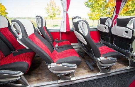 Innenansicht Setra S 515HD ComfortClass